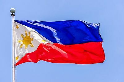 Filipino Flag - 90x150cm 3x5' 100% Polyester - Republic of the Philippines