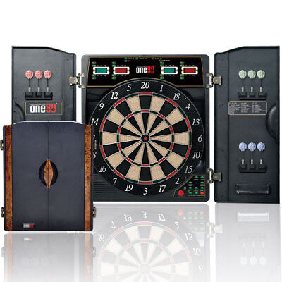One80 Electronic Deluxe Dartboard - Suitable For 1 To 16 Players (Da180Bed)