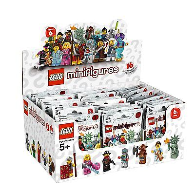 LEGO Series 6 Minifigure Your Choice 8827 Factory Sealed UNOPENED Foil pack NEW