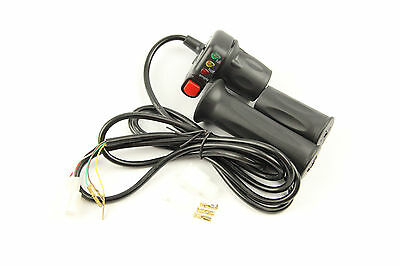 WuXing 24V 36V 48V Throttle eBike Electric Bike Scooters Moped w// Adapter N2