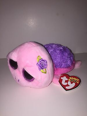 "Ty Rosie Turtle 6"" Beanie Boos-New, Mint Tag-Htf *in Hand Now* So Cute & Pretty"