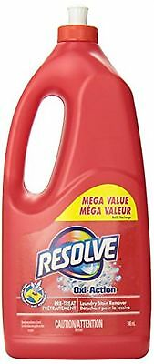 Resolve Oxi-Action Laundry Stain Remover Mega Value Pre-Treat Trigger Refill ...