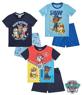 New Official Paw Patrol Short Sleeve Pyjama  3-8 y free 2nd class postage