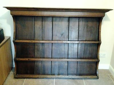 Antique Georgian Oak Dresser back 53 ins wide x 43 ins high