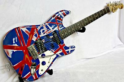 Squier Strat Special Edition, Custom Painted and Upgraded Electric Guitar