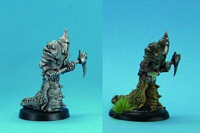 Ral Partha Fantasy - Chaos Knight - Chaos Knight with Slug Mutation (28mm)