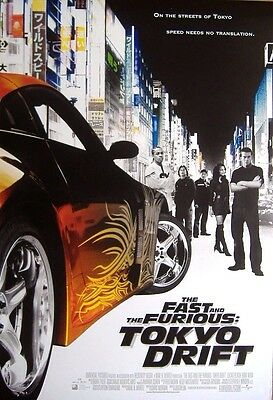 The Fast and the Furious: Tokyo Drift (2006) ORIGINAL D/S ONE-SHEET POSTER