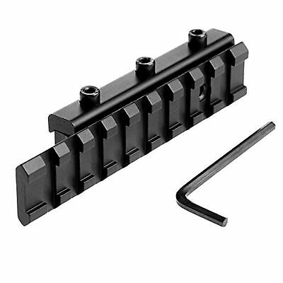 Tactical Dovetail Scope Extend Mount 11mm to 20mm Picatinny Weaver Rail Adapter