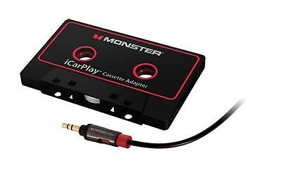 Monster iCarPlay Cassette Adapter 800 for MP3's and Smartphones - Cassette Ad...