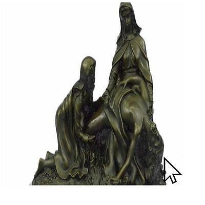 The Lamentation Christ Jesus With Virgin Mary And Saint Mary Magdalene Bronze
