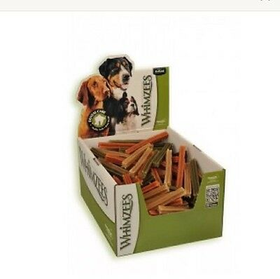 Dog Chews ~ Whimzees 10 x Small Vegetarian Stix  ~ 3 Flavour Mix