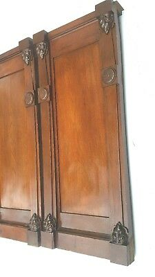 Vintage Wall Panels Entryway Mantel Mantles Columns Posts Architectural Accents