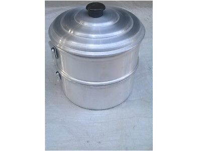 Aluminum steamer pots/One strainer small and one bowl steamer/tamale steamer