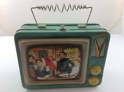 Happy Days Tin Lunch Box Pail Television 1999 by Vendor Nostalgic Fonzie Richie