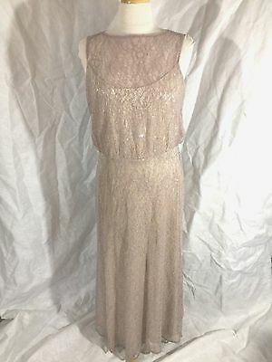 MOTHER of THE BRIDE GROOM DRESS FORMAL EVENING GOWN SPECIAL OCCASION SIZE 10