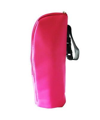 Baby Stroller Pushchair Pram Bottle Warmer Thermal Feeding  Bag Hang PINK