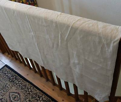 Antique, Very Old German Linen Sheet Ideal For Teddy Bears Crib - Bed - Blanket