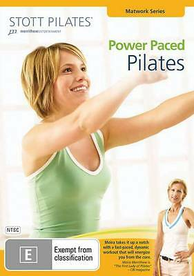 Stott Pilates - Power Paced Pilates (DVD)