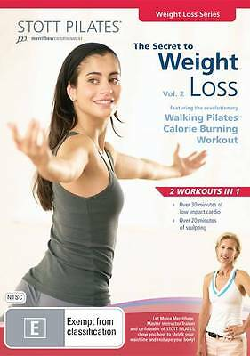 Stott Pilates - The Secret To Weight Loss: Vol 2 (DVD)