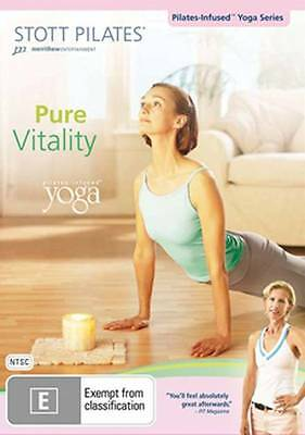 Stott Pilates - Pure Vitality: Pilates Infused Yoga (DVD)