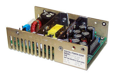 Digital Power Corp USC70-405C 15VDC@2A 5VDC@5A 1U Open Frame Power Supply