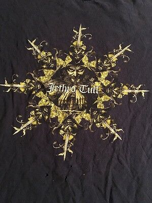 Jethro Tull T Shirt 2002 Living With The Past Tour Rare