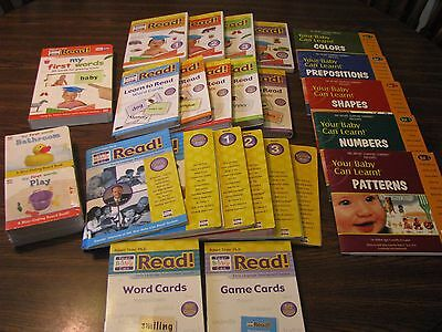 Your Baby Can Read, Your Baby Can Learn Bonus Set Never Used