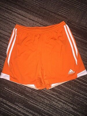 Adidas Climacool Mens Soccer Shorts Medium Size Orange