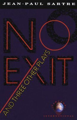 No Exit, and Three Other Plays by Jean-Paul Sartre 9780679725169