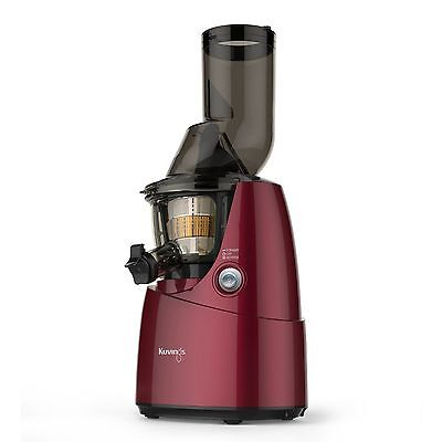 Kuvings B6000PR Whole Slow Juicer Red With Smoothie Strainer