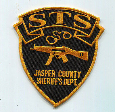 Jasper County Indiana Sheriff's Dept. Sheriff's Tactical Squad Patch // SWAT