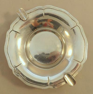 "Juvento Lopez Reyes 5 ¾"" Sterling Ashtray Mexico"