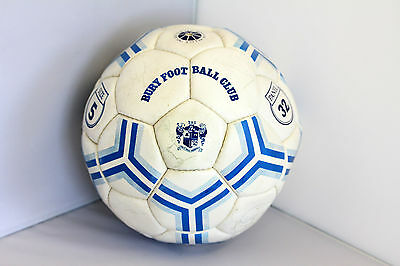 Bury Football Club Signed Autographed Official Ball Size 5 Sports Memorabilia