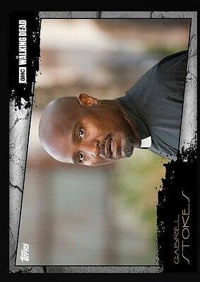 Gabriel Stokes-Close Up-Topps Walking Dead Card Trader