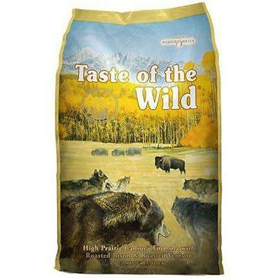 Taste of the Wild Dry Dog Food High Prairie Canine Formula with Roasted...