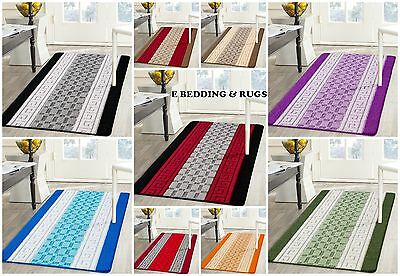 Non Slip,Machine Washable Beautiful Multi colours Rugs All Sizes (Small – Large)