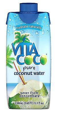 Vita Coco Coconut Water Pure 11.1 Ounce Pack of 12