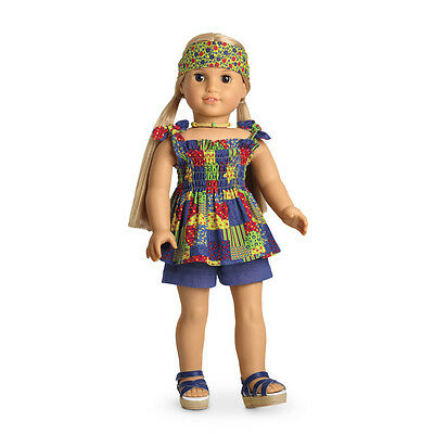American Girl Doll Julie's Patchwork Outfit NEW! Retired