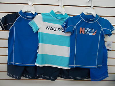 Infant, Toddler, & Boys Nautica $54 2pc Assorted Swim Sets Size 12 Months - 7X