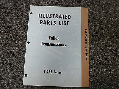 FULLER EATON RT-510 RT-610 RTO-610 Series Transmission Parts Catalog