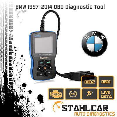 BMW 97-15 OBDI/II Diagnostic Scan Tool - Engine, ABS, Airbags, Body