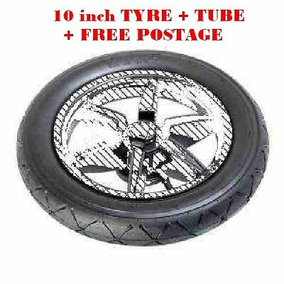 "Mountain Buggy SWIFT, DUET 10 "" TYRE and TUBE, FREE POSTAGE"