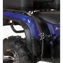 Yamaha Grizzly 550 700 Passenger Foot Pegs Atv Fender Guards Wrinkle 2007-15