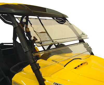 Can Am Commander 800 1000 Front Windshield Direction 2 Full Tilt Utv Lexan Poly