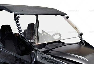 Arctic Cat Wildcat 700 Front Windshield Direction 2 Full Trail Sport Lexan Poly