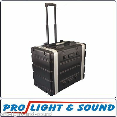 6 RU Unit Rack Road Case with Trolley + Handle, 5RU Internal FAST SHIP FROM SYD