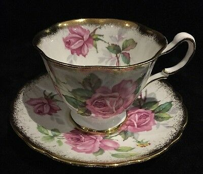 Royal Stafford Bone China Tea Cup and Saucer Set Berkeley Rose