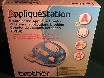 Brother Applique Station Embroidery Machine E-100 DISNEY/POOH Collection