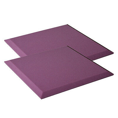 New Violet  Acoustic Soundproof Sound Absorption Studio Foam Board 50cm*25cm