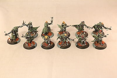 Warmachine Retribution of Scyrah Mage Hunter Infiltrators Pro Painted